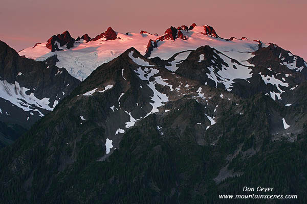 Mount Olympus In Olympic National Park Prints Photos