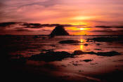 Image of Sunset from Cape Alava, Olympic National Park