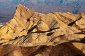 Image of Manly Beacon from Zabriske Point, Death Valley