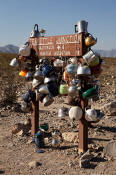 Image of Teakettle Junction, Racetrack Road, Death Valley