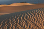 Image of Mesquite Sand Dunes at sunrise, Death Valley