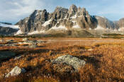 Image of The Ramparts in Tonquin Valley