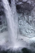 Image of Snoqualmie Falls in Winter